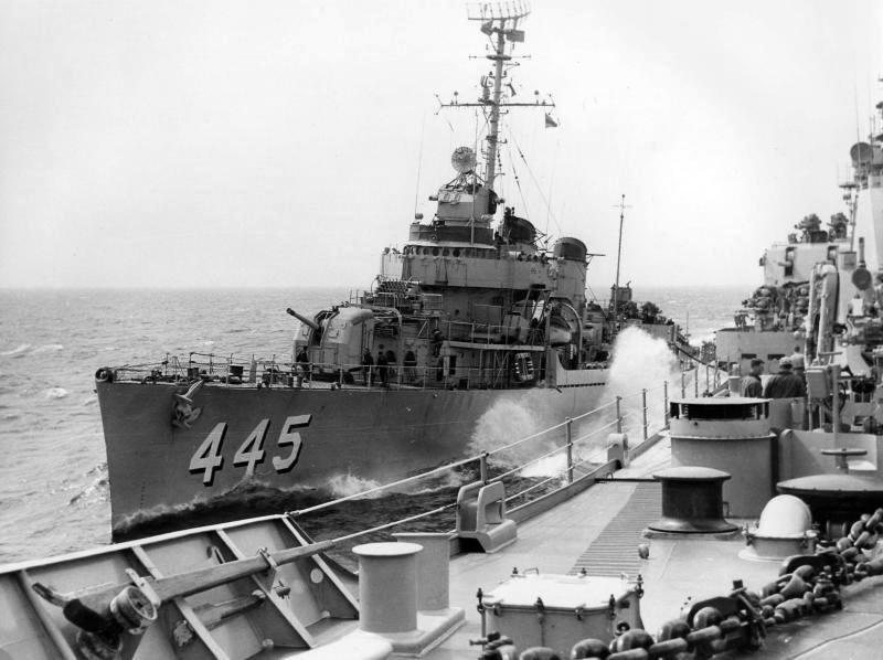 USS Fletcher 1953 diary